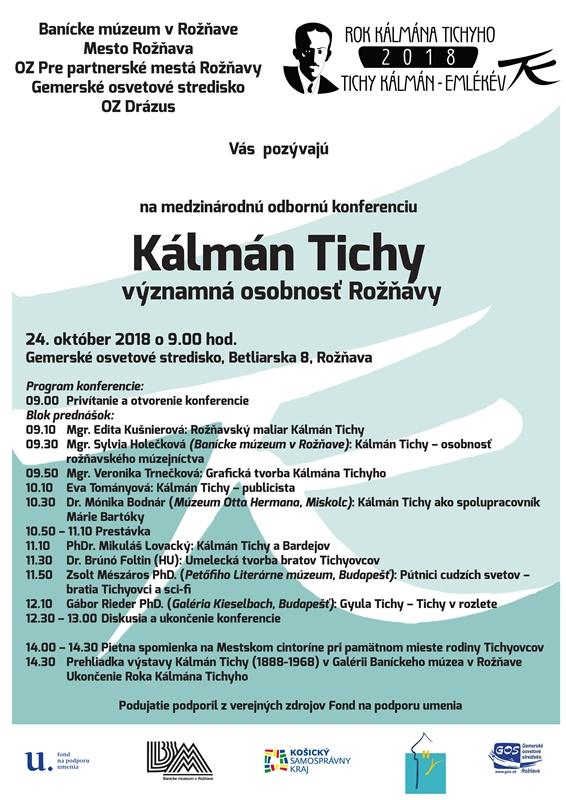 konferencia koloman tichy sk
